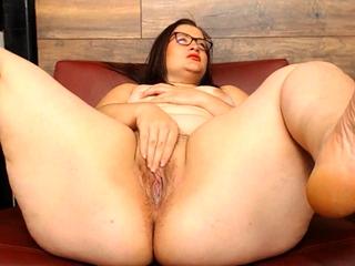 Rough Toy Fat BBW Masturbation