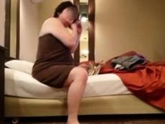 Mature Fat Asian in Kimono