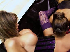 Gemma Massey knows how to lick pussy lesbian sex with big ti