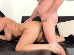 german big tits amateur milf fuck on sofa
