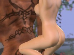 Hentai sex 3D fantasy with demons 2