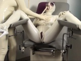 Tanja and Fiona get freaky in their latex hospital outfits